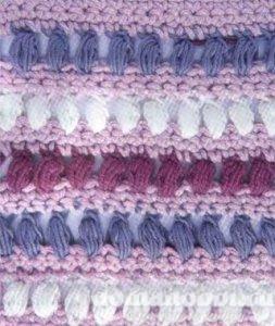 Вязание оригинального узора крючком