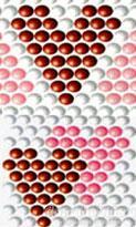 Схемы сердечек из бисера