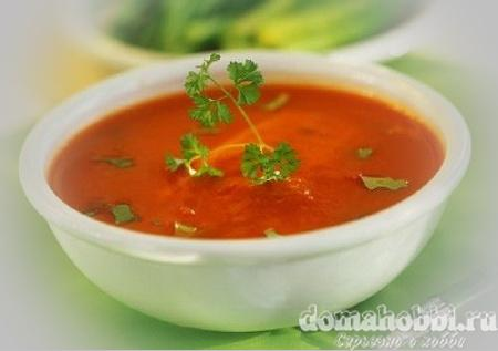 Суп с помидоров