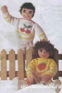 Вязаные игрушки Пуловеры для кукол