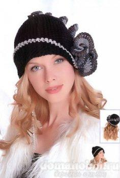 Вязание красивой шапки