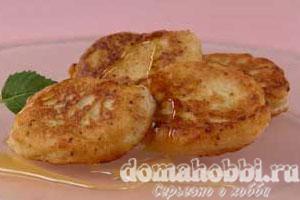 Яблочные оладьи (2)