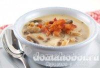 Грибной суп с индейкой