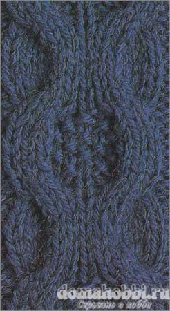 Узор вязания спицами коса медальон woman women ru сайт для