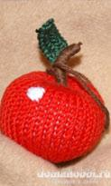 Вязаные яблоки