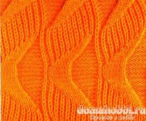 Патентные узоры для вязания спицами