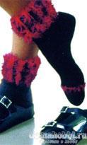 Носки с полосатыми планками