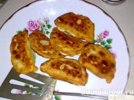 Пирожки с банановой начинкой