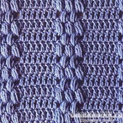 Узоры для вязания на толстых спицах 528